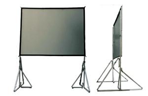 Easy Fold Screen-150 นิ้ว เนื้อ FR ขนาด 96x120