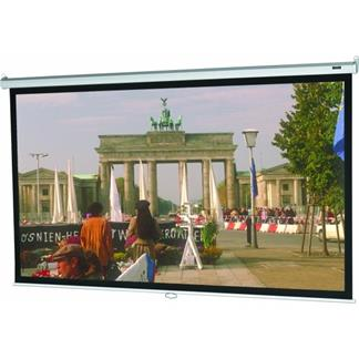 60x60 Model B Projector Screen, Square Format, Matte White Fabric