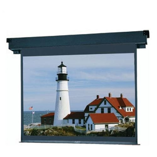 Motorized Electric Projection Screen, 60quot; H x 80quot; W