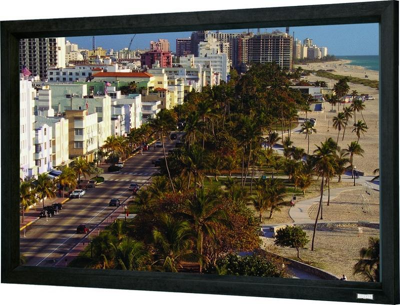 49x87 (100 Diag.) Projector Screen, HDTV Format, High Contrast Grey Fabric