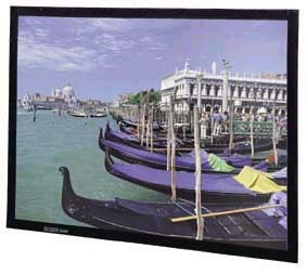 """PERM-WALL HDTV Format 133quot; Diag. (65"""" x 116"""" ) High Contrast Cinema Vision"""