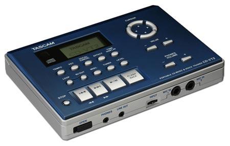 Tascam CD-VT2 CD Vocal and Instrument Trainer