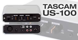 TASCAM US-100,