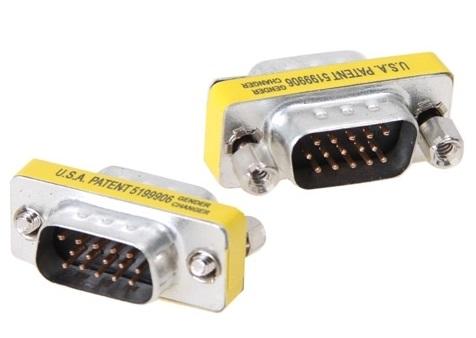 หัวแปลง Port VGA 15 Pins ตัวผู้ 2 ด้าน