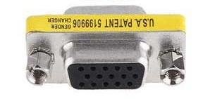 หัวแปลง Port VGA 15 Pins ตัวเมีย 2 ด้าน