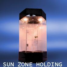 ตู้โชว์อะคริลิค หมุนได้ขนาด35.5*35.5*60 ซม.
