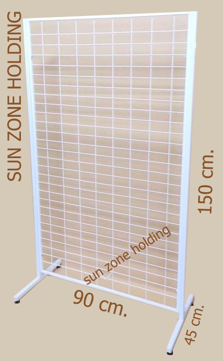 Standแขวนโชว์สินค้า(ชุดโครงแขวนตะขอ)ขนาด 90*150 ซม. รหัสสินค้า:000281
