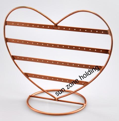 สแตนแขวนต่างหูรูปหัวใจ