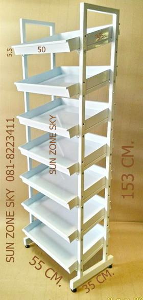 7 ชั้นวางเอนกประสงค์รุ่นชิค เอ3 รหัสสินค้า:000539