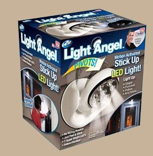 Light Angel โคมไฟ LED พร้อมเซนเซอร์ตรวจจับความเคลื่อนไหว รหัสสินค้า:000594