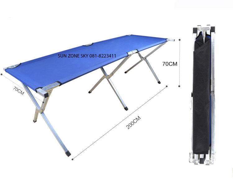 PROMOTION ราคา 850 บาทโต๊ะตลาดนัดพับเก็บได้ โต๊ะขายของรุ่นหน้าโต๊ะเป็นผ้าใบ - ขนาดความยาว 2 เมตร