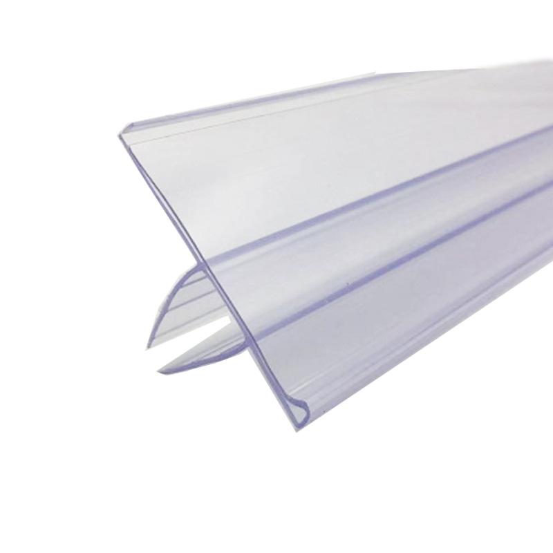 ป้ายพลาสติกใส่ราคา สำหรับชั้นวางกระจก  size  4 x120 cm. //  4x90 cm. รหัสสินค้า:000727