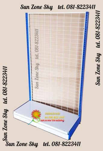 ชั้น Stand สำหรับแขวนโชว์สินค้าแบบด้านเดียว 1 แผ่นฐาน  Size   : 90 x 40 x 150 cm. รหัสสินค้า:000285