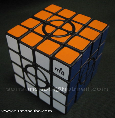 Crazy 4x4x4 - I  ( Black )