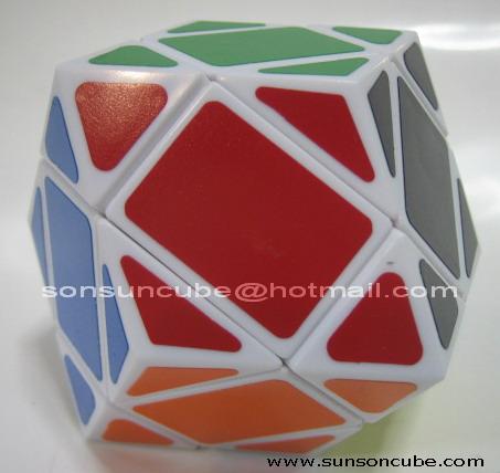 รูบิค Dodecahedron - II  ( LL ) White