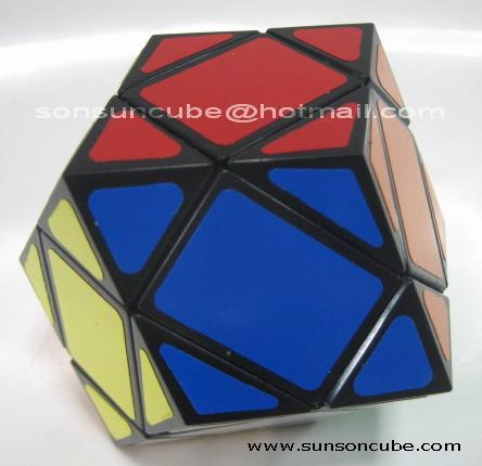 รูบิค Dodecahedron - II  ( LL ) Black
