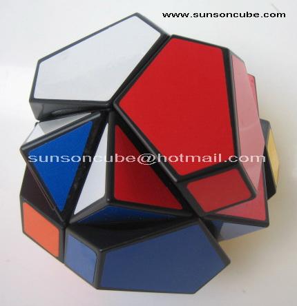Polyhedron Skewb ( Black )