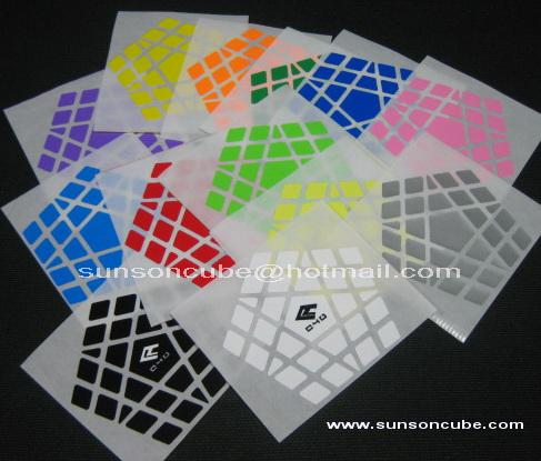 Sticker Gigaminx