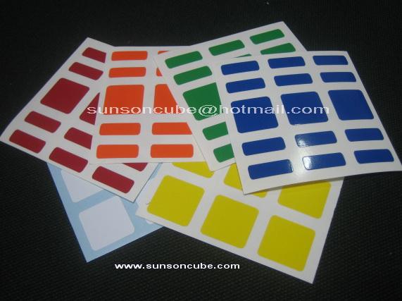 Sticker 3x3x5 C4U