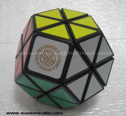 Jewel cube - Dayan ( Mf8 ) Black