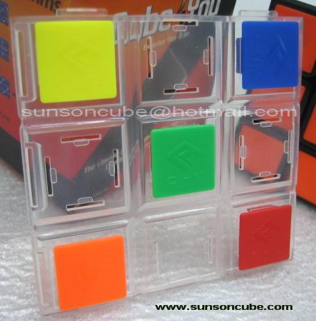 รูบิค 3X3X3 C4U - Tile ( Black )