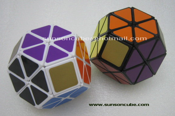 Jewel cube ( 8 Axis ) - LL  /  White