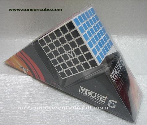 รูบิค 6x6x6 V-Cube - White