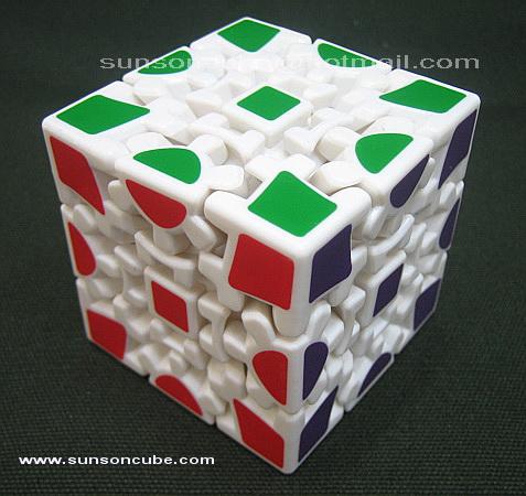 Gear cube - White