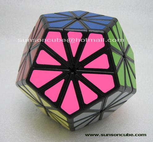 Pyraminx Crystal ( QJ ) - Black