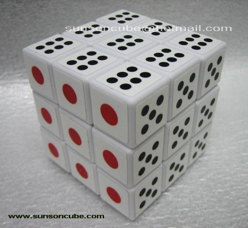 3x3x3 Dice  - Maru