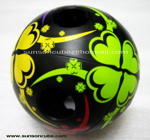 2x2x2  Void Ball - QJ / Black
