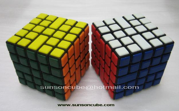 5x5x5 Maze Cube - CT / Black