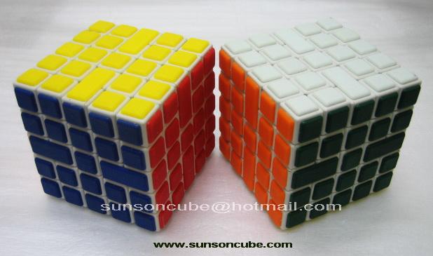 5x5x5 Maze Cube - CT / White