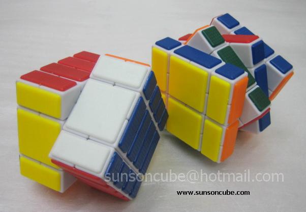 4x4x4 Banaged ( B234 ) CT / White