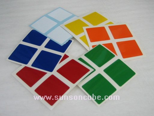 Sticker รูบิค 2x2x2