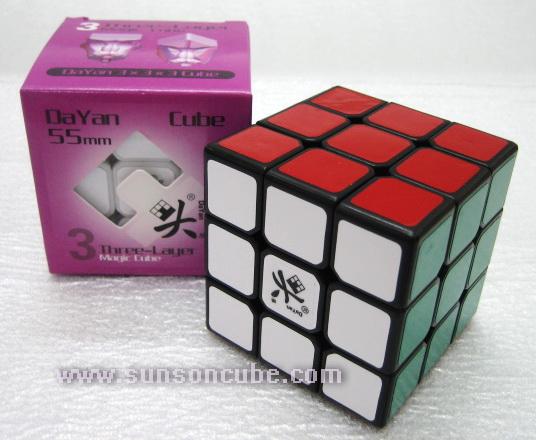 3x3x3 Dayan Zhanchi ( 55 mm. ) / Black