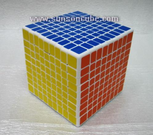 9x9x9 Shengshou - White