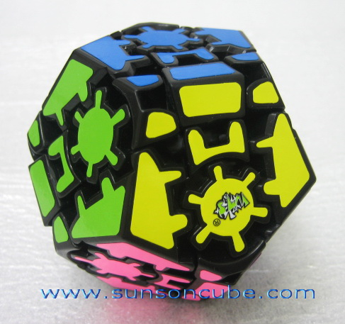 Gear Dodecahedron - II ( LL )  - Black