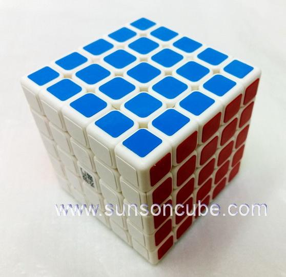 5x5x5 YJ - Yu Chuang / White