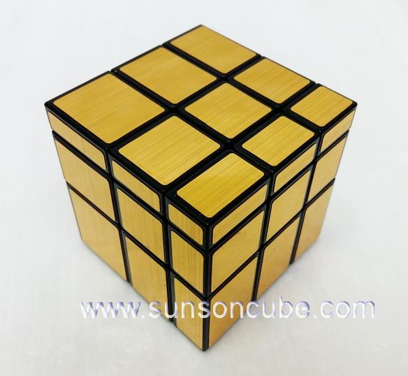 Mirror Block  Gold ( Black cube ) / YuXin