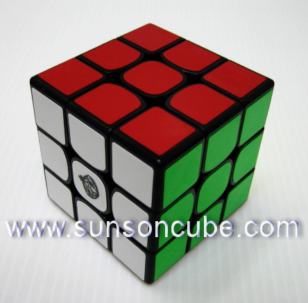 3x3x3  Cong\'s Design  - MeiYing / Black