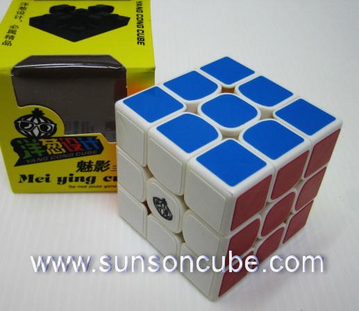 3x3x3  Cong\'s Design  - MeiYing / White