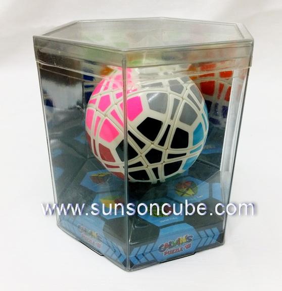 Traiphum Ball Megaminx -  Calvin\'s puzzle -ฺ 12 colors ( White )