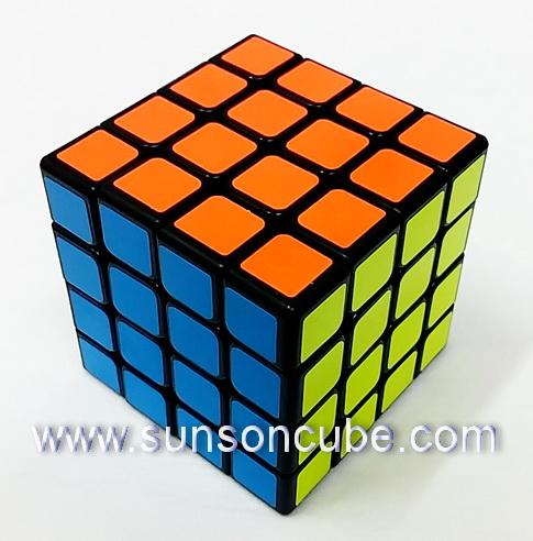 4x4x4 MoFangJiaoShi -MF4s  /  Black
