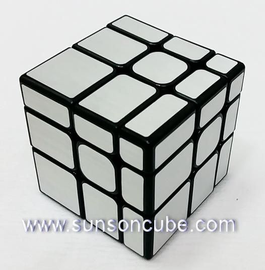 Mirror Block Silver ( Black cube ) / MoFangJiaoShi - Mirror S