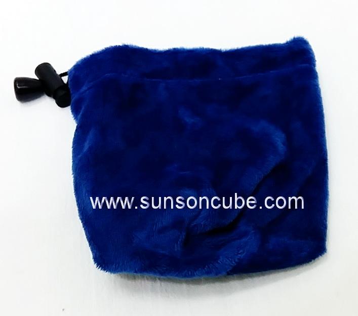 Velvet Rubik\'s Bag  - Blue