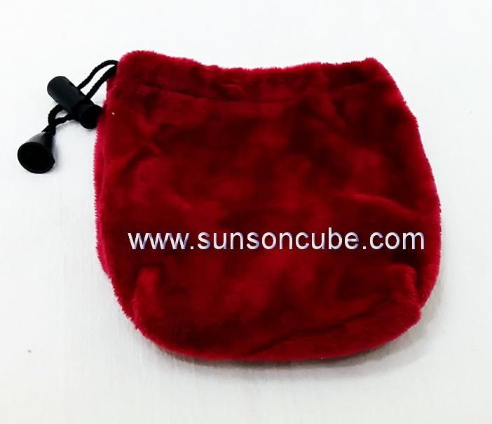 Velvet Rubik\'s Bag  - Red