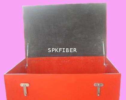 กล่องไฟเบอร์กลาสสีส้ม