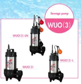 ปั๊มน้ำคาวาโมโต้ Kawamoto  รุ่น WUO-405-0.25T4LN-F