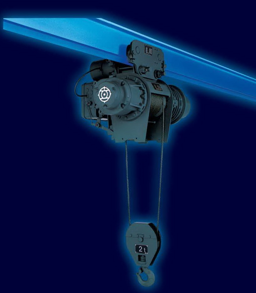 รอกสลิงไฟฟ้า HITACHI 5,000 Kg./380 V. Model : 5 M